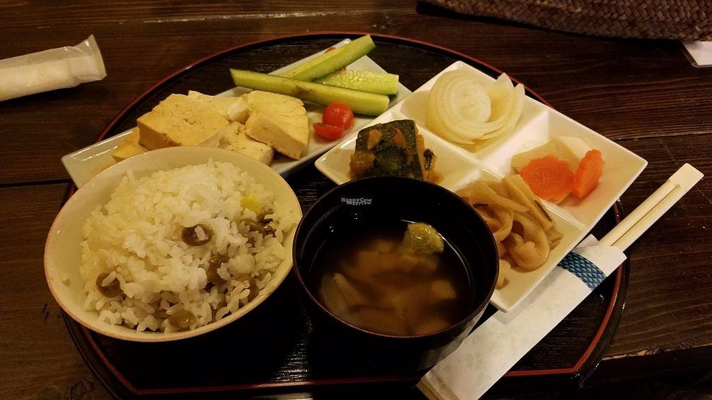"Photo of Sakura Saku  by <a href=""/members/profile/Kennya"">Kennya</a> <br/>Tofu steak set <br/> October 30, 2016  - <a href='/contact/abuse/image/62301/185311'>Report</a>"