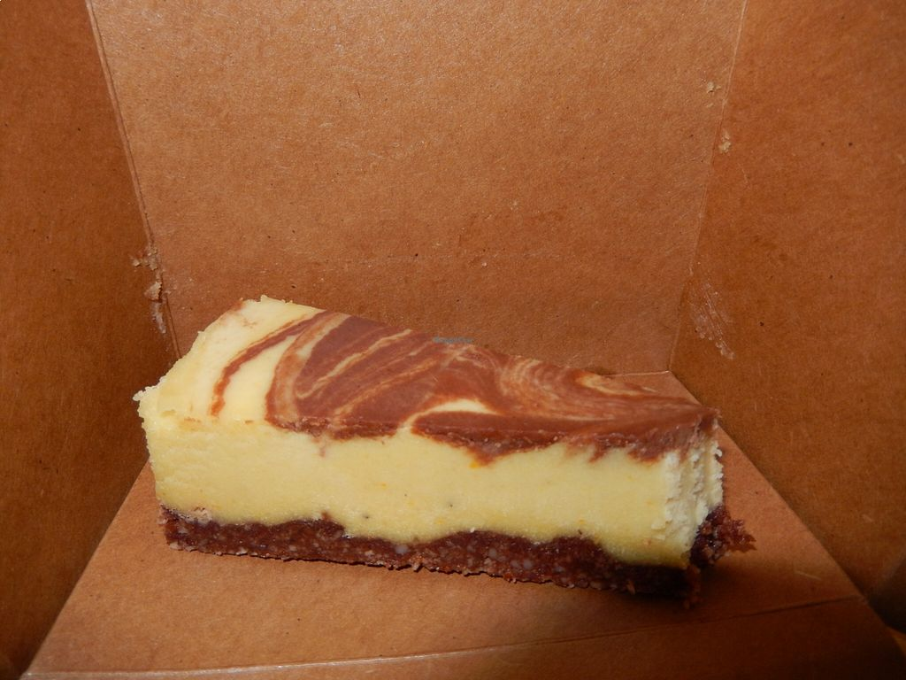 """Photo of CLOSED: The Core  by <a href=""""/members/profile/CLRtraveller"""">CLRtraveller</a> <br/>raw chocolate-orange cake <br/> August 22, 2015  - <a href='/contact/abuse/image/62311/114635'>Report</a>"""