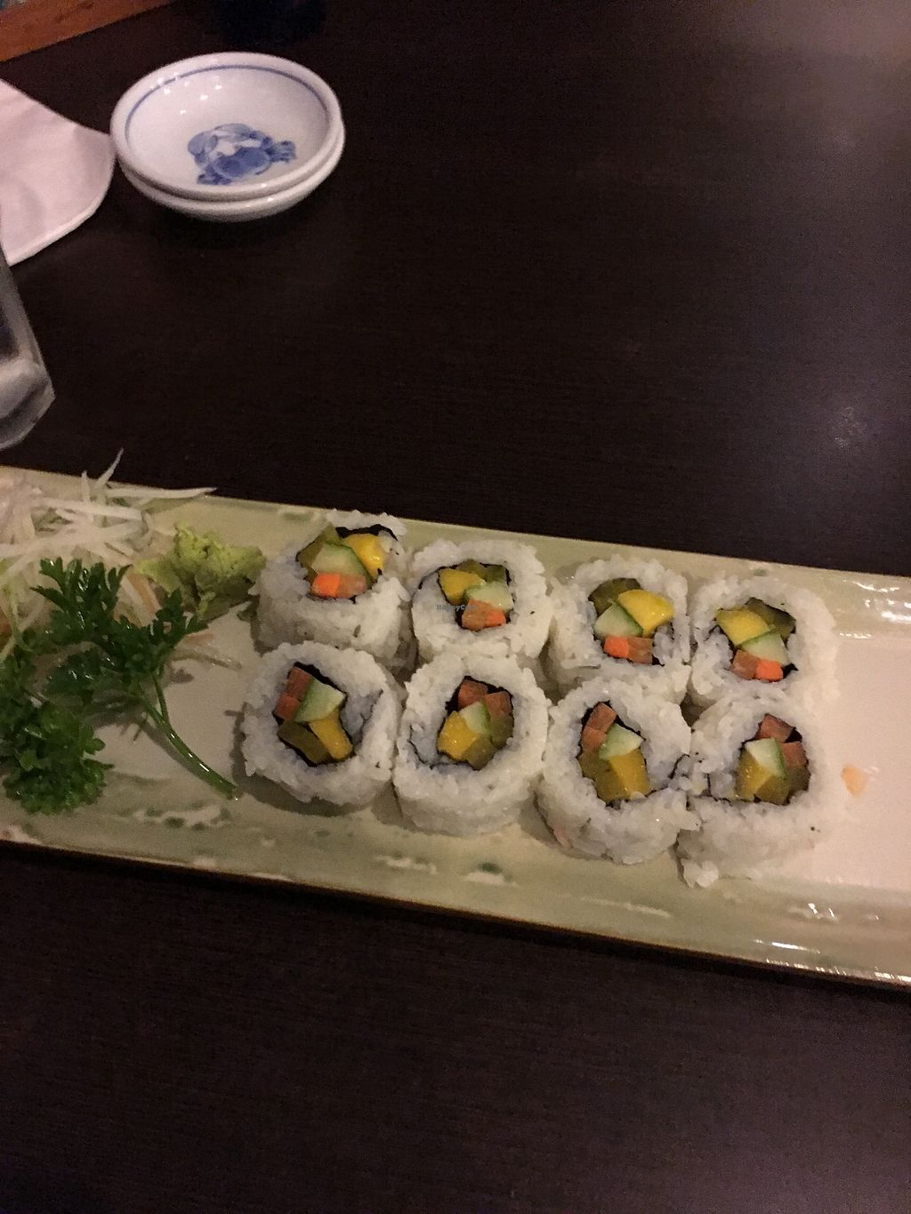 """Photo of Tsuru  by <a href=""""/members/profile/Durianrider"""">Durianrider</a> <br/>Vegan sushi <br/> October 8, 2017  - <a href='/contact/abuse/image/62341/313082'>Report</a>"""