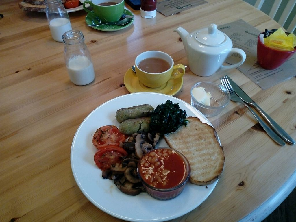 """Photo of Greens Cafe  by <a href=""""/members/profile/BethAni"""">BethAni</a> <br/>Vegan Breakfast <br/> January 21, 2018  - <a href='/contact/abuse/image/62343/349505'>Report</a>"""