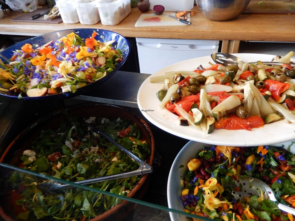 "Photo of Seeds 2 Cafe  by <a href=""/members/profile/CLRtraveller"">CLRtraveller</a> <br/>some of the salads in the buffet <br/> August 22, 2015  - <a href='/contact/abuse/image/62350/114681'>Report</a>"