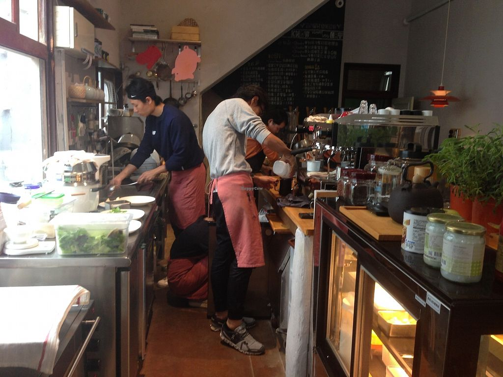 """Photo of MuYe - Mottainai Plant-Based Whole Food Cafe  by <a href=""""/members/profile/Lizjm"""">Lizjm</a> <br/>Awesome friendly staff  <br/> January 9, 2018  - <a href='/contact/abuse/image/62356/344684'>Report</a>"""