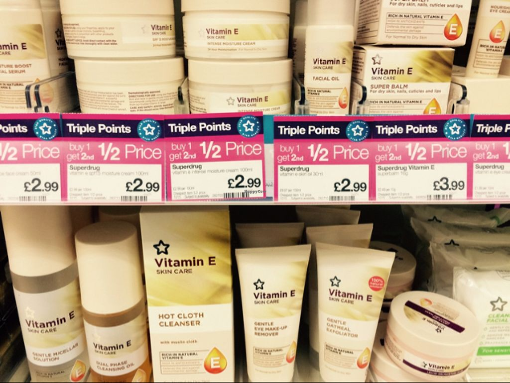 "Photo of Superdrug   by <a href=""/members/profile/CiaraSlevin"">CiaraSlevin</a> <br/>Superdrug own brand Vitamin E Skincare range <br/> September 10, 2015  - <a href='/contact/abuse/image/62364/117260'>Report</a>"