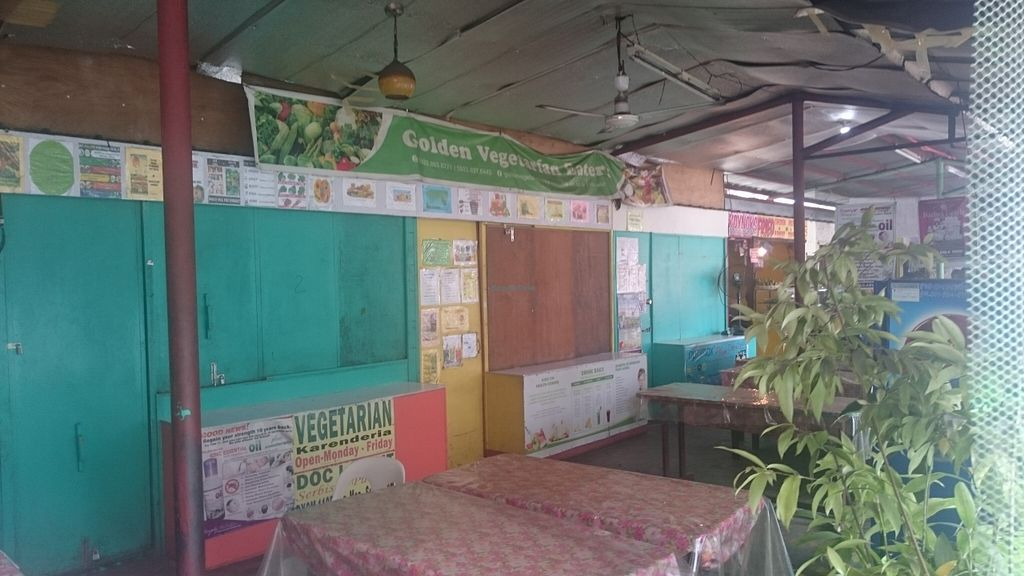"Photo of Golden Vegetarian Eatery  by <a href=""/members/profile/fruitmansapote"">fruitmansapote</a> <br/>Golden Vegetarian Eatery open Sun-Fri <br/> August 25, 2015  - <a href='/contact/abuse/image/62374/115229'>Report</a>"