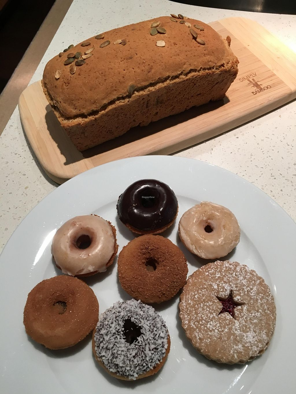 """Photo of Two Daughters Bakeshop  by <a href=""""/members/profile/vegan%20frog"""">vegan frog</a> <br/>Bread, donuts and cookies <br/> April 9, 2016  - <a href='/contact/abuse/image/62376/143679'>Report</a>"""