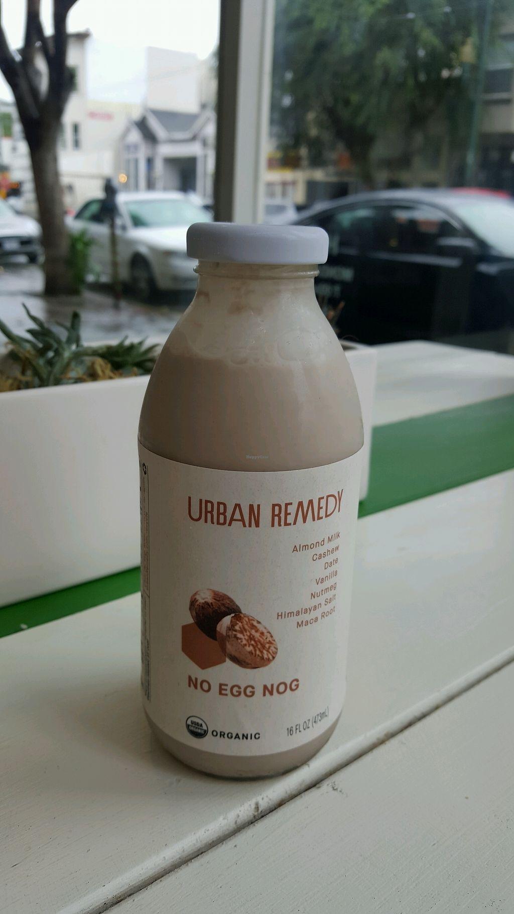 "Photo of Urban Remedy  by <a href=""/members/profile/VegManda"">VegManda</a> <br/>No Egg Nog <br/> November 26, 2017  - <a href='/contact/abuse/image/62396/329430'>Report</a>"