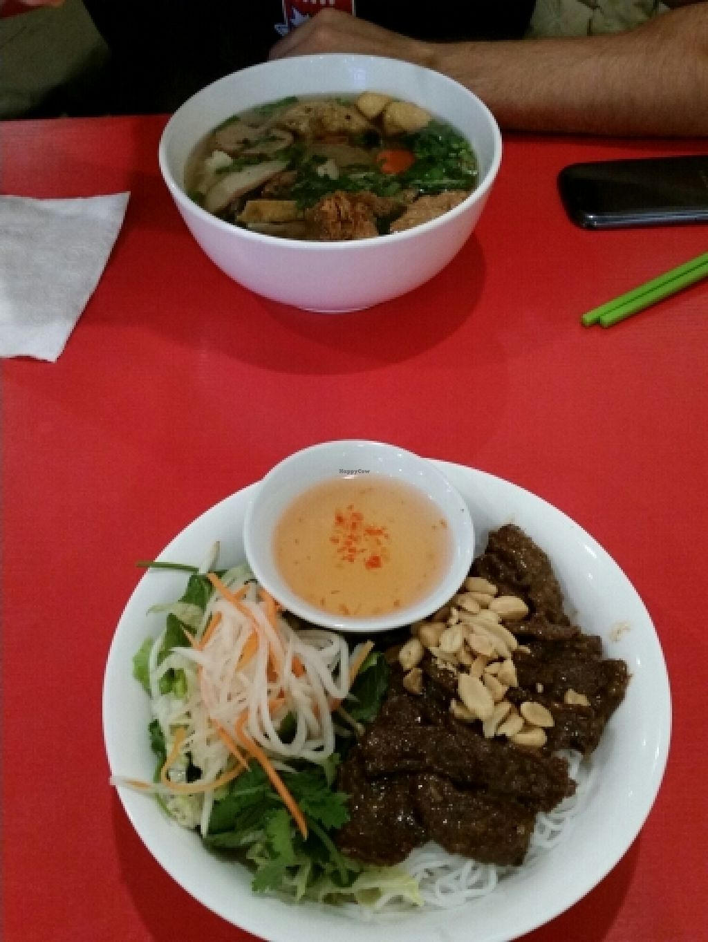 "Photo of Pho Da Son  by <a href=""/members/profile/keeperac"">keeperac</a> <br/>'beef' rice noodle bowl abd traditional vietnamese pho soup <br/> January 9, 2016  - <a href='/contact/abuse/image/62405/131608'>Report</a>"