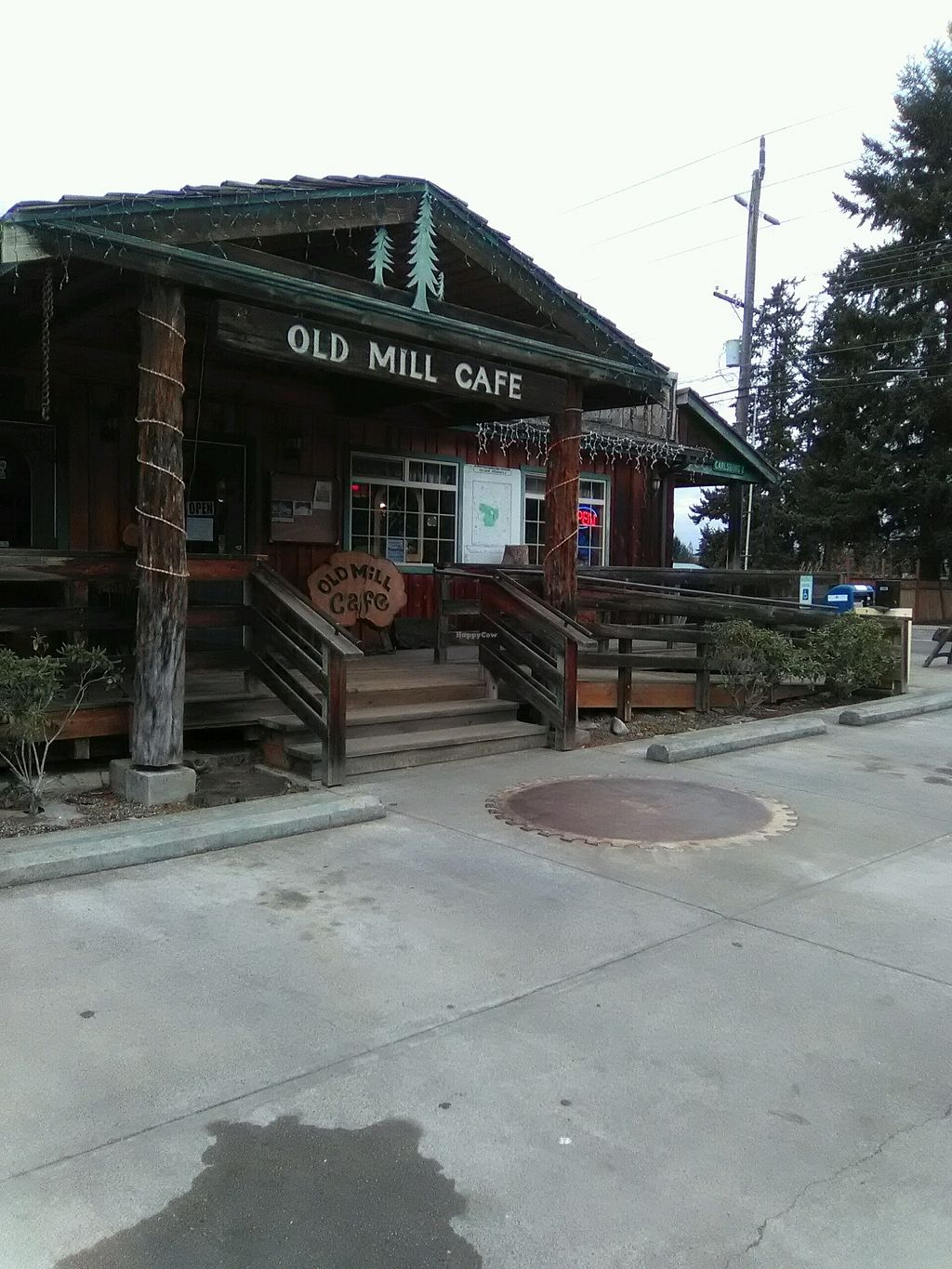 """Photo of The Old Mill Cafe  by <a href=""""/members/profile/Valhaclaw"""">Valhaclaw</a> <br/>Beware! Very high priced bean burgers serviced here <br/> November 15, 2017  - <a href='/contact/abuse/image/62422/325839'>Report</a>"""