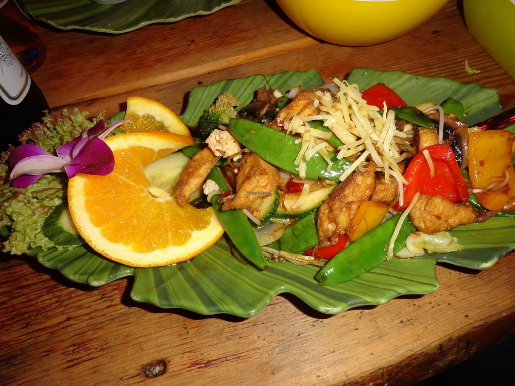"""Photo of Koh Phangan Restaurant  by <a href=""""/members/profile/JonJon"""">JonJon</a> <br/>Grilled tofu and vegetables <br/> August 24, 2015  - <a href='/contact/abuse/image/62452/115083'>Report</a>"""