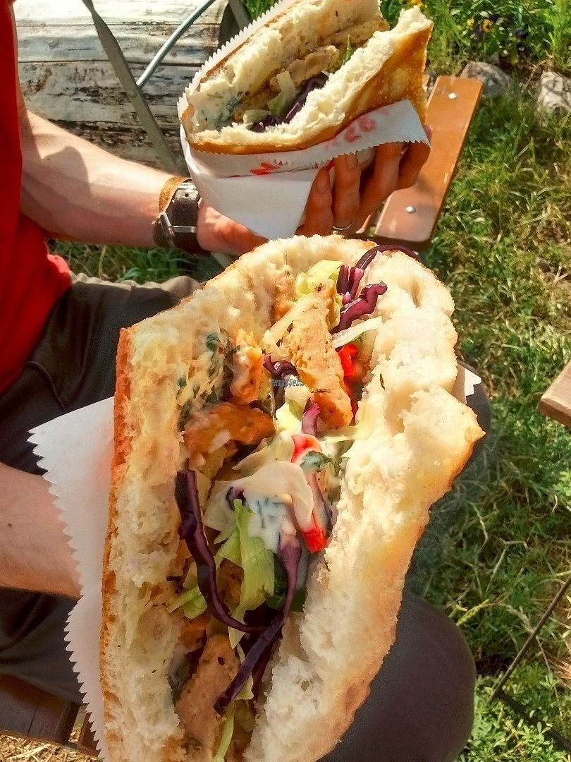 """Photo of Wilder Hase  by <a href=""""/members/profile/Toast%20and%20Avocado"""">Toast and Avocado</a> <br/>vegan döner  <br/> October 15, 2016  - <a href='/contact/abuse/image/62454/182267'>Report</a>"""