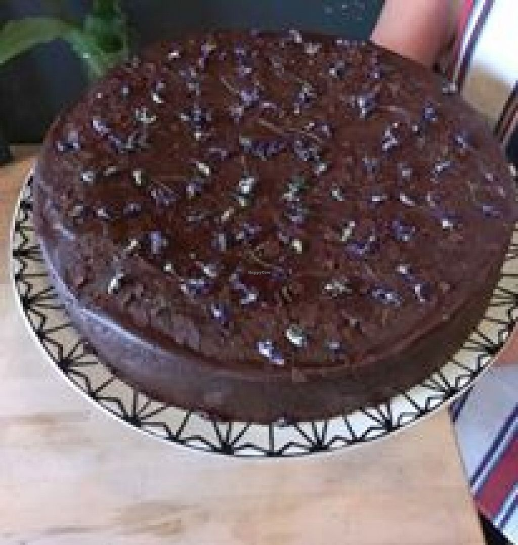 "Photo of Bensel & Gretels  by <a href=""/members/profile/alberteinstein112"">alberteinstein112</a> <br/>Rich Vegan Chocolate-Cherry Cake <br/> September 10, 2015  - <a href='/contact/abuse/image/62472/117251'>Report</a>"