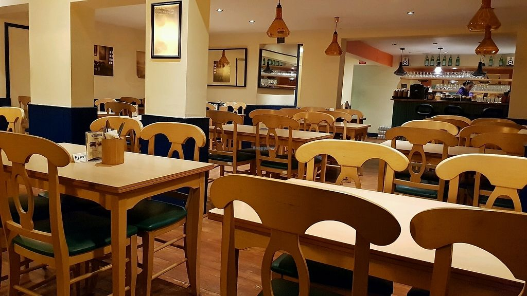 """Photo of Old School Vegetarian Restaurant  by <a href=""""/members/profile/jollypig"""">jollypig</a> <br/>Inside  <br/> March 22, 2018  - <a href='/contact/abuse/image/62483/374587'>Report</a>"""