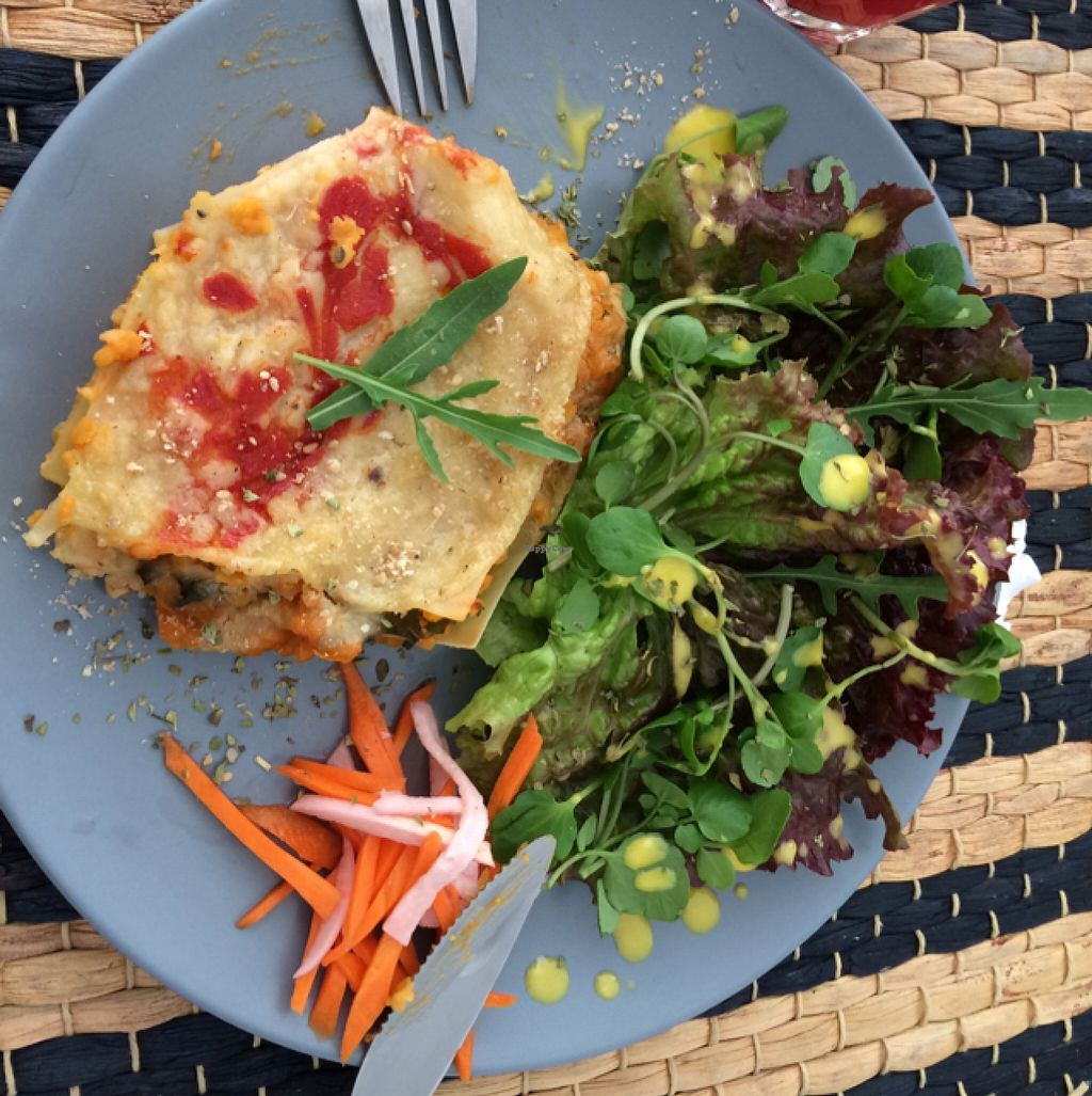 "Photo of Aloha Cafe  by <a href=""/members/profile/DavidMarques"">DavidMarques</a> <br/>lasagna with lentilles! so fresh and so tasty! <br/> July 13, 2016  - <a href='/contact/abuse/image/62498/159581'>Report</a>"
