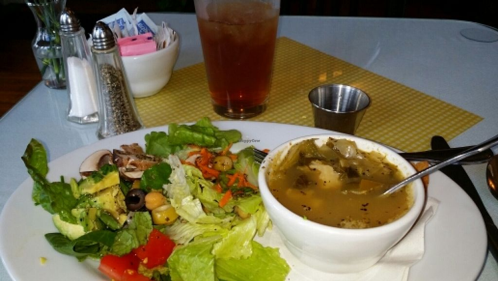 "Photo of CLOSED: Black-Eyed Susan Acoustic Cafe  by <a href=""/members/profile/zula154"">zula154</a> <br/>vegan Cobb salad and dilled veggies soup  <br/> November 12, 2015  - <a href='/contact/abuse/image/62514/124724'>Report</a>"
