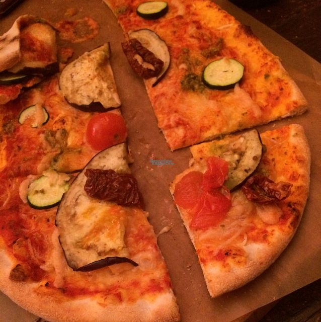 """Photo of Pizzeria Bomb  by <a href=""""/members/profile/AimingGreen"""">AimingGreen</a> <br/>Pizza  <br/> October 8, 2016  - <a href='/contact/abuse/image/62527/180687'>Report</a>"""