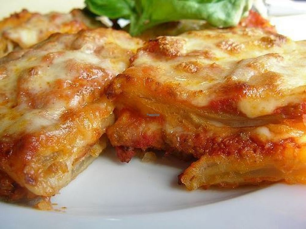 """Photo of CLOSED: Maria's Good Food  by <a href=""""/members/profile/Meaks"""">Meaks</a> <br/>Vegan Lasagne  <br/> August 1, 2016  - <a href='/contact/abuse/image/62534/164104'>Report</a>"""