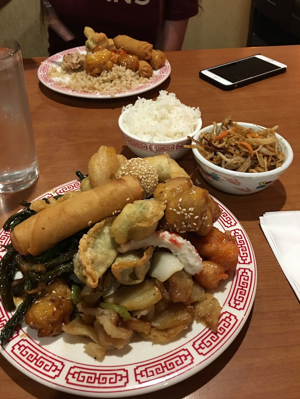 """Photo of Tsing Tao  by <a href=""""/members/profile/JaydaTaylor"""">JaydaTaylor</a> <br/>All vegan buffet plate 3/3 <br/> October 18, 2017  - <a href='/contact/abuse/image/6253/316439'>Report</a>"""
