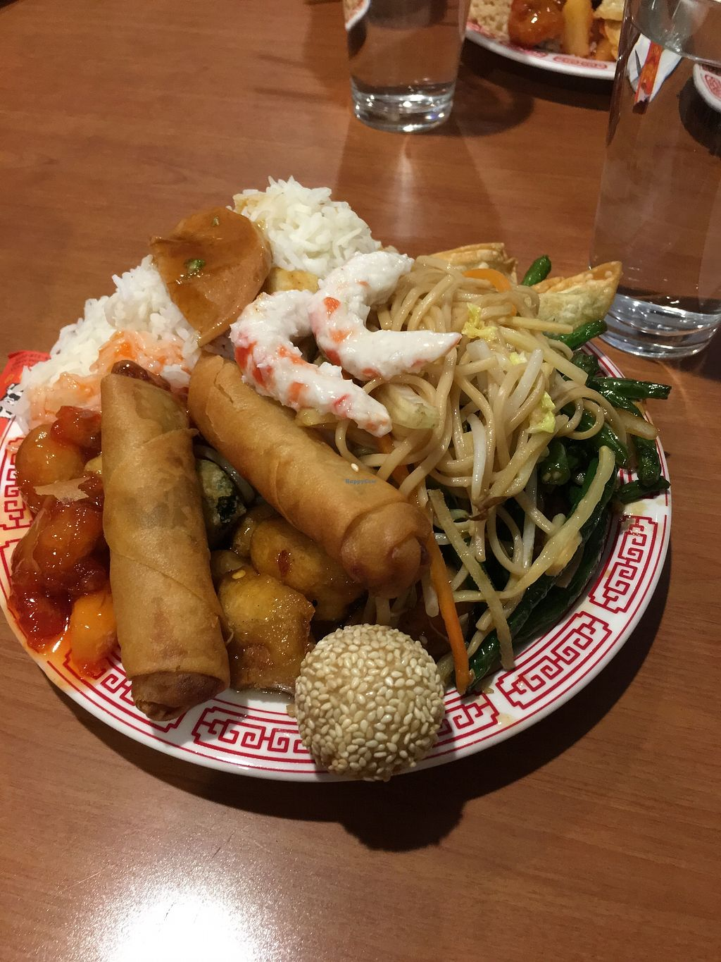 """Photo of Tsing Tao  by <a href=""""/members/profile/JaydaTaylor"""">JaydaTaylor</a> <br/>All vegan buffet plate 2/3 <br/> October 18, 2017  - <a href='/contact/abuse/image/6253/316441'>Report</a>"""