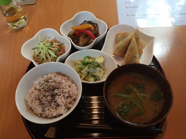 """Photo of Otera House - Shojin Cafe Waka  by <a href=""""/members/profile/Jocie"""">Jocie</a> <br/>September 2016 Shojin lunch set.  <br/> September 17, 2016  - <a href='/contact/abuse/image/62596/176229'>Report</a>"""