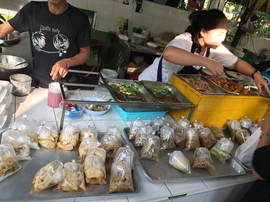 "Photo of Lumpini Park Morning Market Stall  by <a href=""/members/profile/MyVeganJoy"">MyVeganJoy</a> <br/>vegan. noodles and stuff.  <br/> December 13, 2016  - <a href='/contact/abuse/image/6259/200656'>Report</a>"