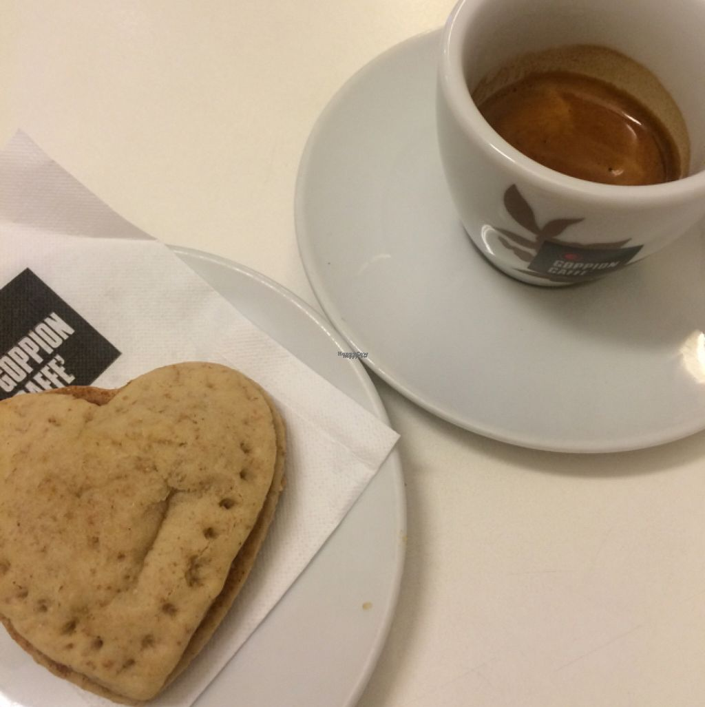 """Photo of Caffetteria La Torre  by <a href=""""/members/profile/mlotto"""">mlotto</a> <br/>vegan biscotti filled with Apple jam <br/> November 4, 2016  - <a href='/contact/abuse/image/62665/186520'>Report</a>"""