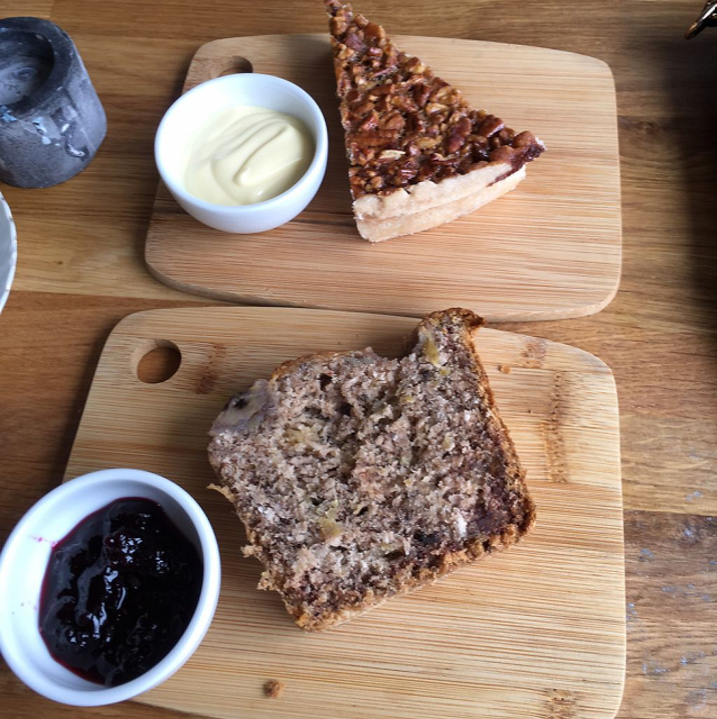 """Photo of The Kitchen  by <a href=""""/members/profile/SuzyJones"""">SuzyJones</a> <br/>banana bread and pecan/coconut pie which was yummy  <br/> April 13, 2017  - <a href='/contact/abuse/image/62670/247529'>Report</a>"""