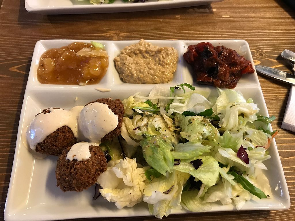 """Photo of Vegi  by <a href=""""/members/profile/LolaNachtigall"""">LolaNachtigall</a> <br/>Vegan Falafel <br/> December 23, 2017  - <a href='/contact/abuse/image/6271/338357'>Report</a>"""