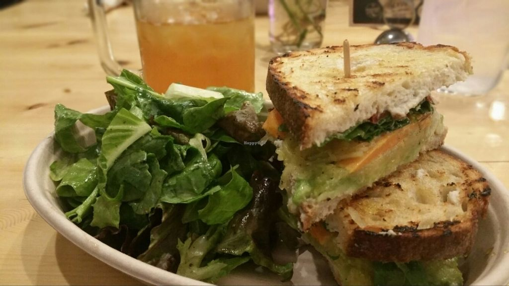 """Photo of CLOSED: Health's Kitchen  by <a href=""""/members/profile/anne420"""">anne420</a> <br/>Winter Veggie Sandwich  <br/> January 25, 2016  - <a href='/contact/abuse/image/62724/133612'>Report</a>"""