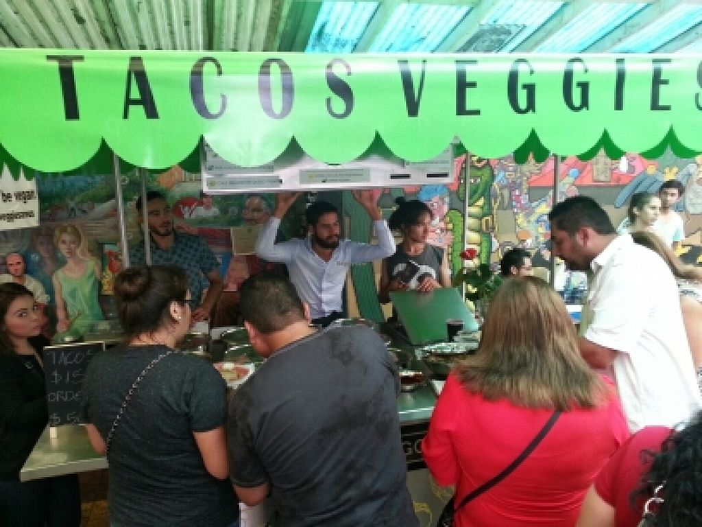 """Photo of TacosNveggie Food Cart  by <a href=""""/members/profile/eric"""">eric</a> <br/>cart at vegan festival <br/> September 6, 2015  - <a href='/contact/abuse/image/62729/116667'>Report</a>"""