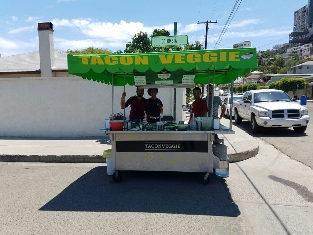 """Photo of TacosNveggie Food Cart  by <a href=""""/members/profile/kenvegan"""">kenvegan</a> <br/>the cart <br/> July 27, 2016  - <a href='/contact/abuse/image/62729/162712'>Report</a>"""