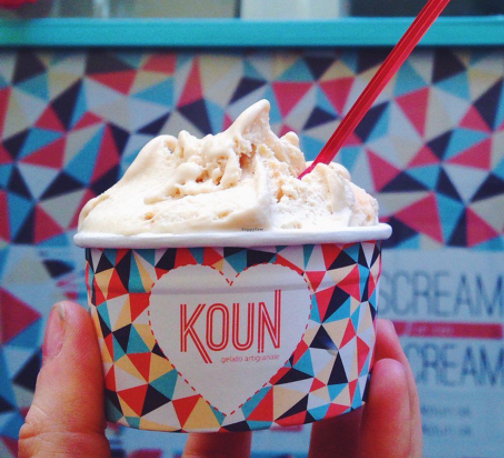 """Photo of Koun  by <a href=""""/members/profile/kristinarollo"""">kristinarollo</a> <br/>peanut butter vegan icecream <br/> June 20, 2016  - <a href='/contact/abuse/image/62733/243602'>Report</a>"""