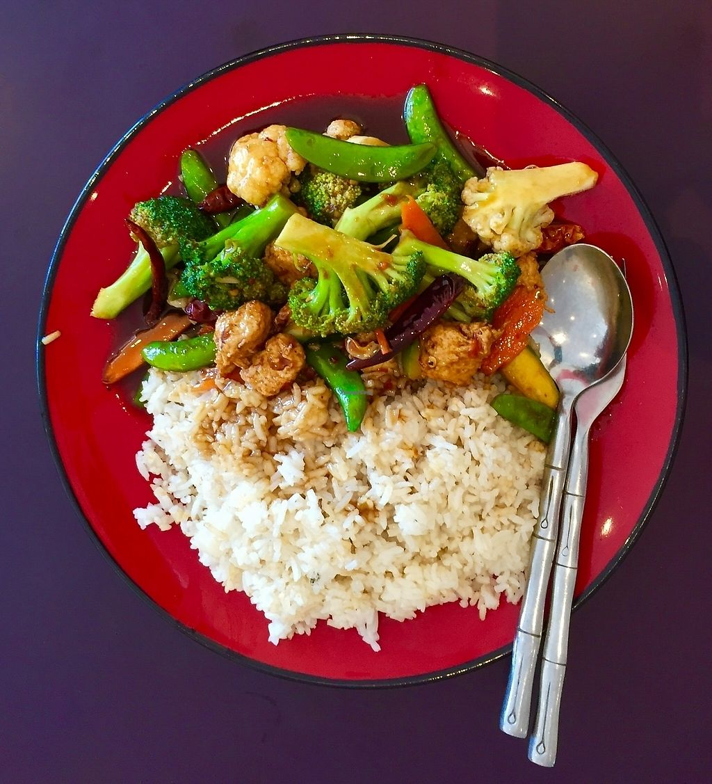 """Photo of Vegie Mum  by <a href=""""/members/profile/karlaess"""">karlaess</a> <br/>Kung pao & rice <br/> February 5, 2016  - <a href='/contact/abuse/image/6273/256455'>Report</a>"""