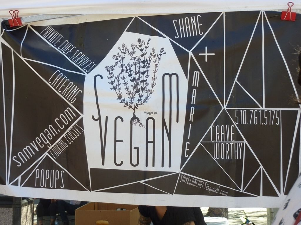 """Photo of CLOSED: S+M Vegan  by <a href=""""/members/profile/MizzB"""">MizzB</a> <br/>S+M vegan Popup at Oakland's Vegan Soul Wellness Festival <br/> September 25, 2016  - <a href='/contact/abuse/image/62770/177821'>Report</a>"""