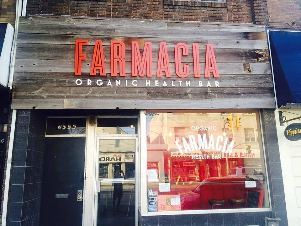 """Photo of Sanna's Farmacia Health Bar  by <a href=""""/members/profile/Marco%20Vegano"""">Marco Vegano</a> <br/>front of bar <br/> October 17, 2016  - <a href='/contact/abuse/image/62779/182713'>Report</a>"""