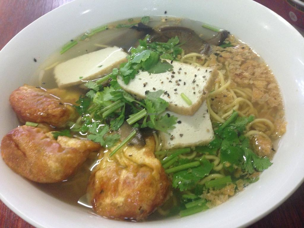 """Photo of Bo De Trai  by <a href=""""/members/profile/Tiggy"""">Tiggy</a> <br/>Wonton soup with yellow noodles - January 2015 <br/> January 23, 2015  - <a href='/contact/abuse/image/6277/91096'>Report</a>"""