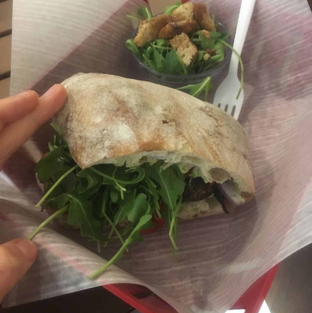 "Photo of Alchemy  by <a href=""/members/profile/Mariarosekicks"">Mariarosekicks</a> <br/>pesto portobello sandwich  <br/> January 2, 2017  - <a href='/contact/abuse/image/62780/207286'>Report</a>"