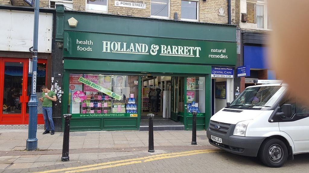 "Photo of Holland and Barrett  by <a href=""/members/profile/Clare"">Clare</a> <br/>Store front <br/> August 3, 2016  - <a href='/contact/abuse/image/62803/165066'>Report</a>"