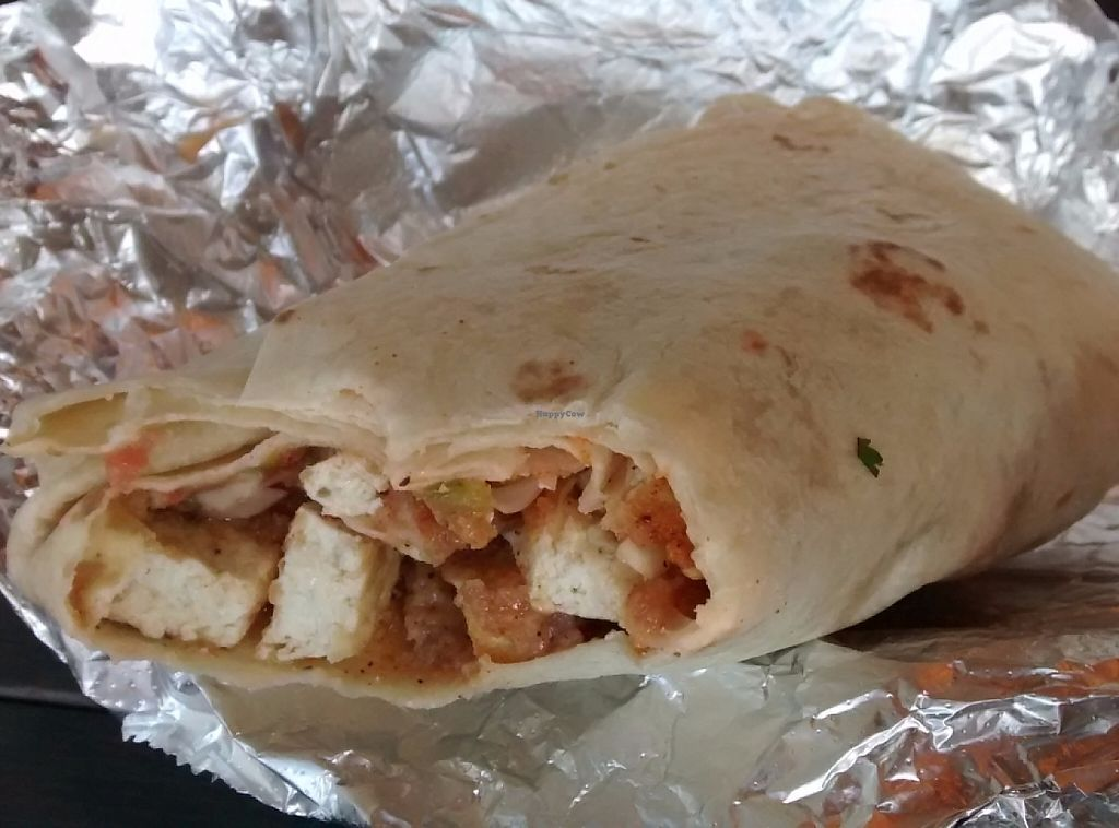 "Photo of Pelon's Baja Grill  by <a href=""/members/profile/JonJon"">JonJon</a> <br/>The Curl burrito (vegan fish) <br/> June 15, 2016  - <a href='/contact/abuse/image/62804/232768'>Report</a>"