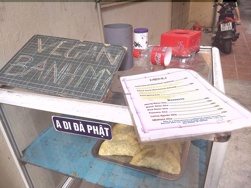 "Photo of Vegan Banh Mi - Food Cart  by <a href=""/members/profile/mugcake"">mugcake</a> <br/>The stall <br/> November 6, 2017  - <a href='/contact/abuse/image/62847/322438'>Report</a>"