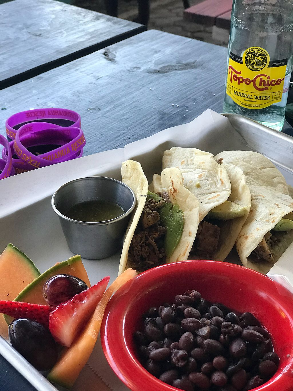"Photo of La Botanica  by <a href=""/members/profile/modelmd"">modelmd</a> <br/>Barbacoa jackfruit tacos <br/> April 15, 2018  - <a href='/contact/abuse/image/62870/386550'>Report</a>"