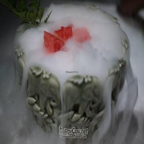 """Photo of CLOSED: Pure Lotus - Holiday Inn  by <a href=""""/members/profile/Powerbex"""">Powerbex</a> <br/>Watermelon with Dry Ice <br/> July 20, 2010  - <a href='/contact/abuse/image/6288/5206'>Report</a>"""