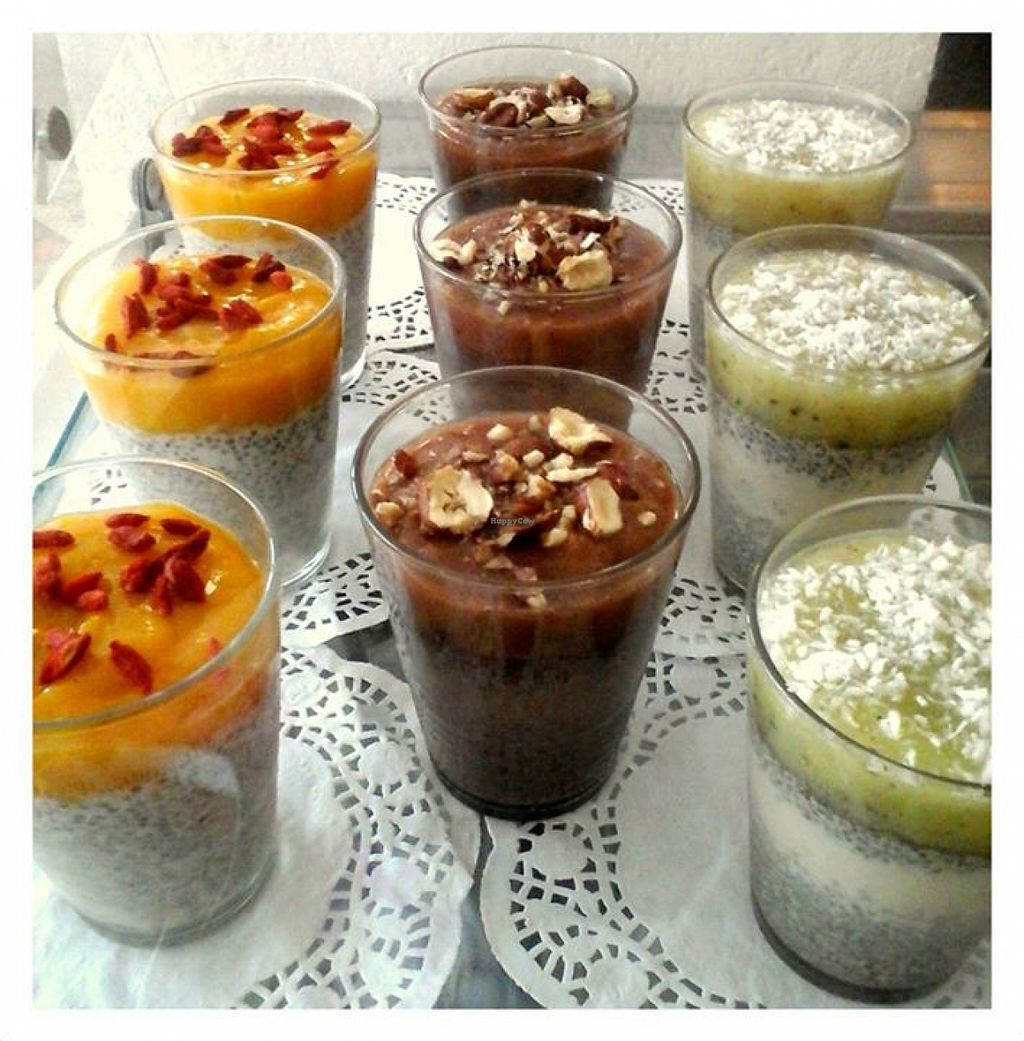 Photo of Bar Wege Mena  by mena_p <br/>Dessert chia <br/> September 3, 2015  - <a href='/contact/abuse/image/62890/116363'>Report</a>