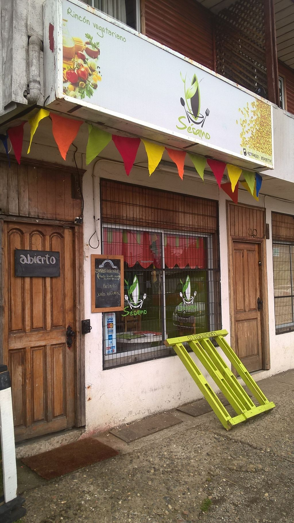 """Photo of CLOSED: Sesamo Rincon Vegetariano  by <a href=""""/members/profile/arya00"""">arya00</a> <br/>lentil burger <br/> November 27, 2015  - <a href='/contact/abuse/image/62905/126280'>Report</a>"""