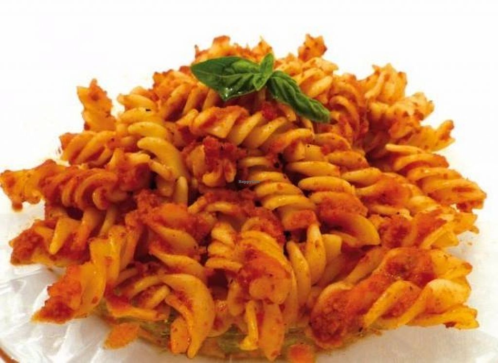 """Photo of Fast Food Vege Fino  by <a href=""""/members/profile/Mad%20Maggie"""">Mad Maggie</a> <br/>Vegan pasta & bolognese sauce with seitan <br/> March 30, 2016  - <a href='/contact/abuse/image/62912/141894'>Report</a>"""