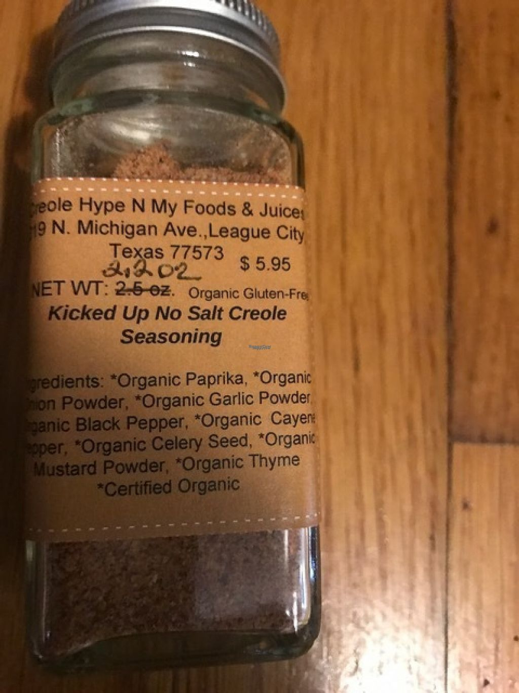"Photo of Natural Living Food Co-op and Cafe  by <a href=""/members/profile/CherylProvost-Jones"">CherylProvost-Jones</a> <br/>No Sodium Gluten Free Organic Louisiana Creole Seasoning <br/> March 20, 2017  - <a href='/contact/abuse/image/62948/238869'>Report</a>"