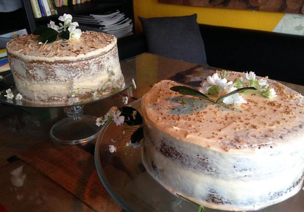 """Photo of La Ruta Vegana  by <a href=""""/members/profile/Oli"""">Oli</a> <br/>Almond and coconut cakes <br/> March 23, 2017  - <a href='/contact/abuse/image/62952/239976'>Report</a>"""