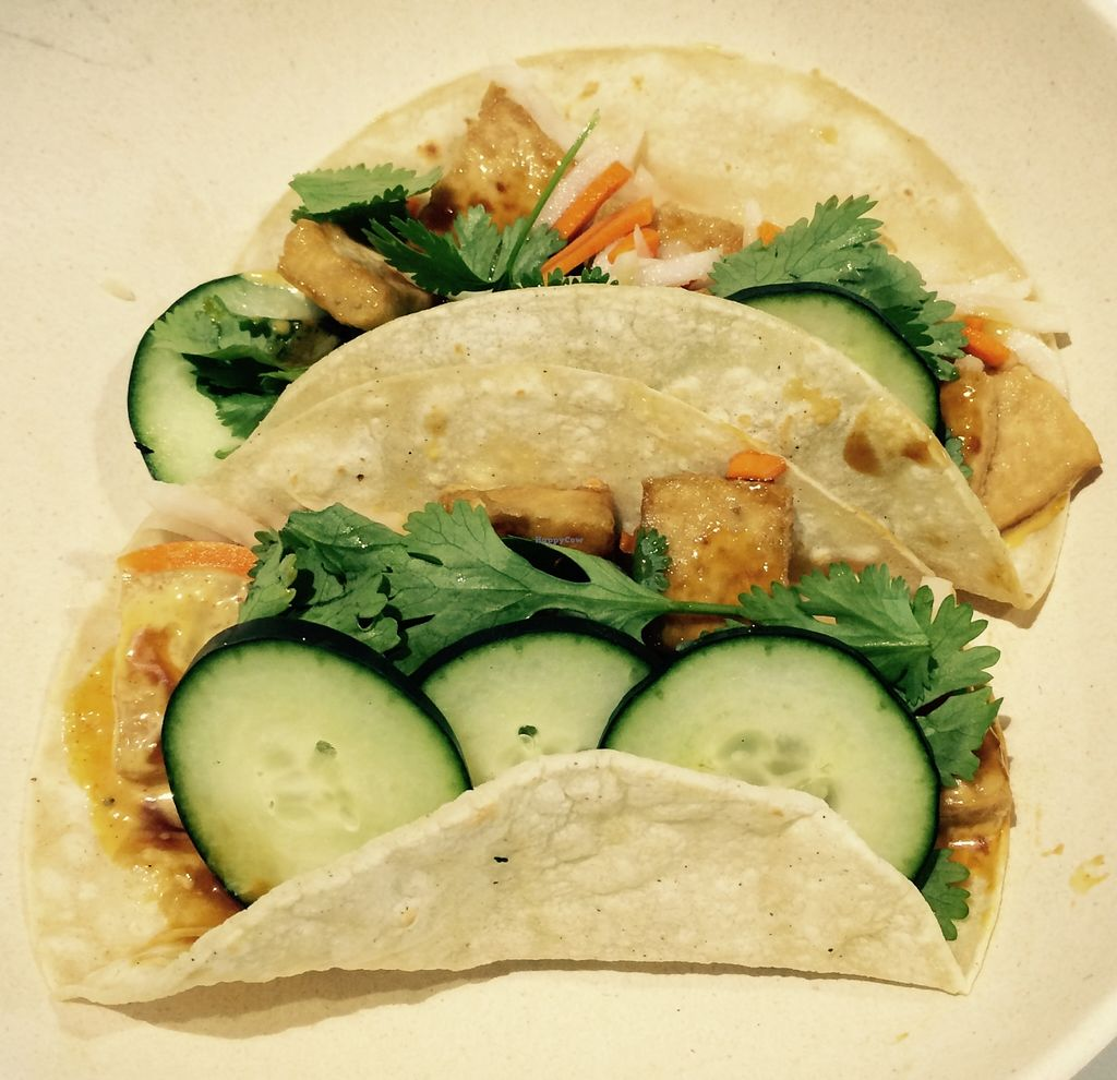 "Photo of Oki Momo  by <a href=""/members/profile/JoyceT"">JoyceT</a> <br/>Banh momo gluten-free corn tortilla tacos with tofu (also a sandwich option available) <br/> September 9, 2015  - <a href='/contact/abuse/image/62979/117130'>Report</a>"