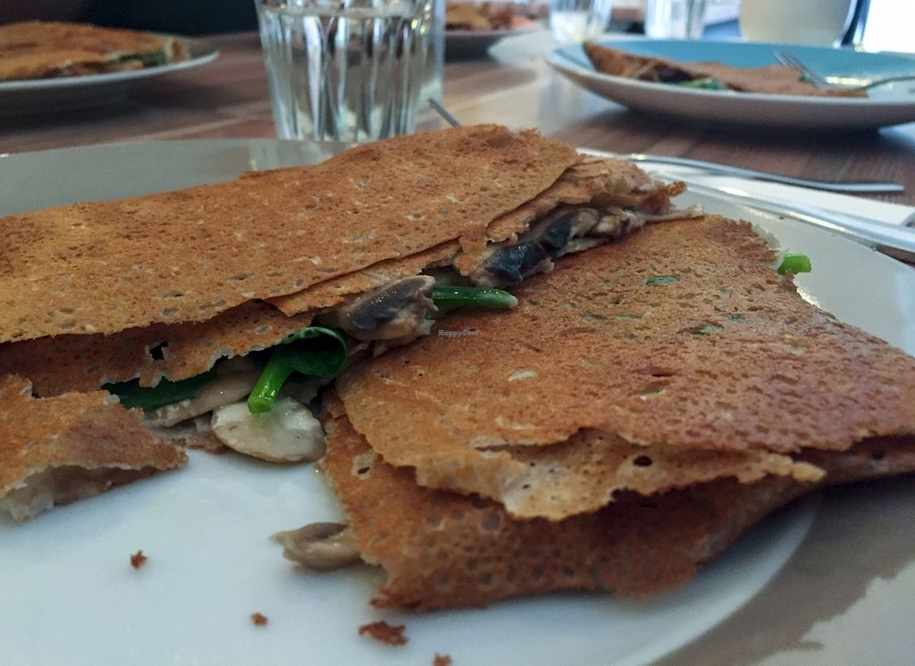 "Photo of Rue de Creperie  by <a href=""/members/profile/karlaess"">karlaess</a> <br/>Mushroom and cheese savoury crepe <br/> September 6, 2015  - <a href='/contact/abuse/image/62992/116536'>Report</a>"