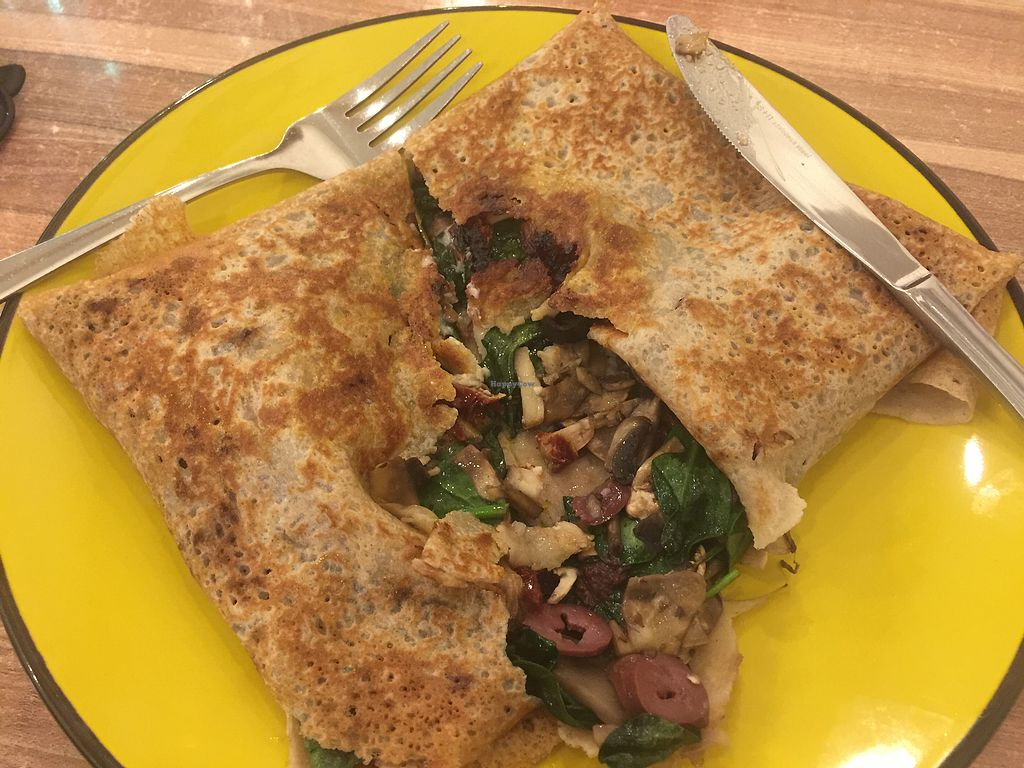 "Photo of Rue de Creperie  by <a href=""/members/profile/Tiggy"">Tiggy</a> <br/>Vegan Veggie Gallette <br/> September 30, 2017  - <a href='/contact/abuse/image/62992/309969'>Report</a>"