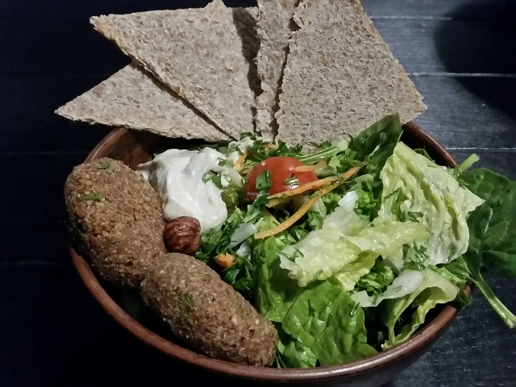 "Photo of CLOSED: Krudo Club  by <a href=""/members/profile/eric"">eric</a> <br/>Salad with raw falafel <br/> May 22, 2016  - <a href='/contact/abuse/image/62995/150336'>Report</a>"